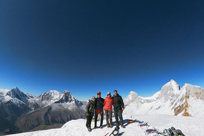 Climb Pisco - the balcony of the Cordillera Blanca (5752m)