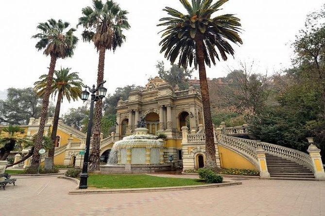 Private Santiago City Tour including Cerro San Cristobal