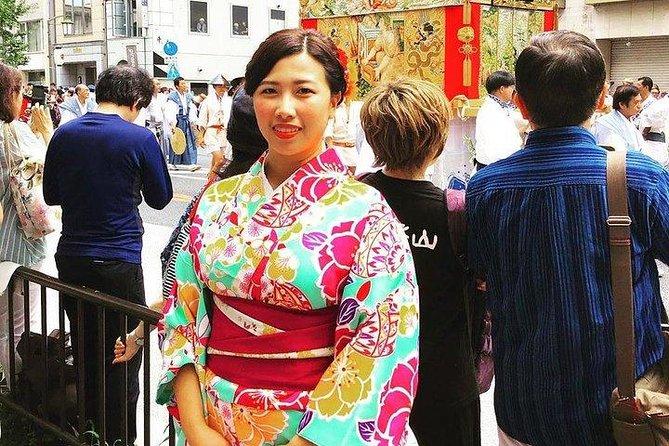 Kimono rental in Tokyo MAIKOYA