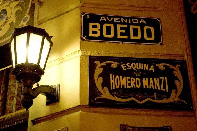 Tango show at Esquina Homero Manzi theater with dinner
