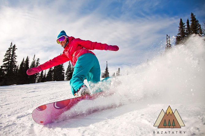 Private Ski & Snowboard lessons + transport to slope (2 people per booking)