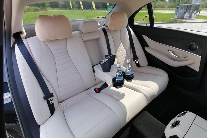 Krakow to Warsaw VIP private transfer. Luxury car with driver&iPad with Netflix