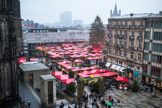 Excursão a pé privada pelo mercado de Natal de Colônia