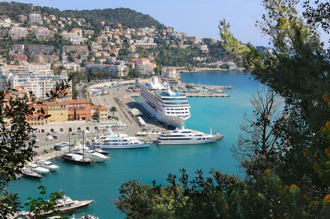 From Nice port, Private 7 hour customized shore excursion