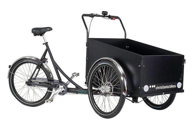 Cargo bike rental in Copenhagen/ 6 hours