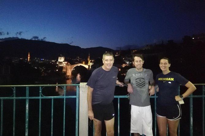 Running in Mostar