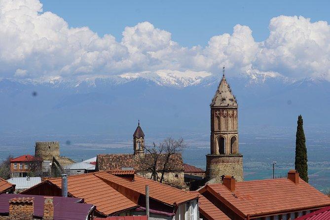 Enticing Georgia Tour (Bodbe, Sighnaghi, Kidzmarauli, Shumi, Gombori pass)
