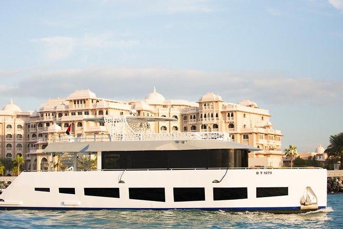All Day Adventure! Palm Atlantis Lunch Cruise + Desert Safari + Pickup!