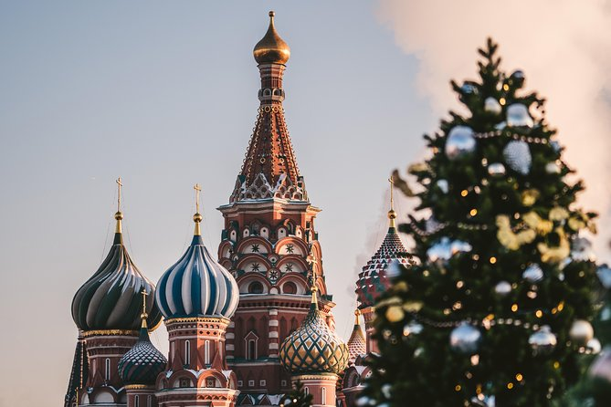 Magic Christmas Tour in Moscow