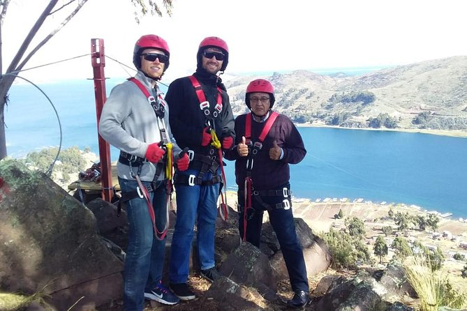 Great Titicaca Lake and zip-line experience from La Paz