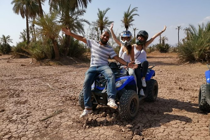 Quad at the Palmeraie of Marrakech, optional Camel ride
