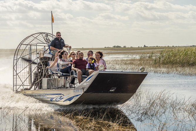 Florida Everglades Airboat Adventure and Wildlife Encounter