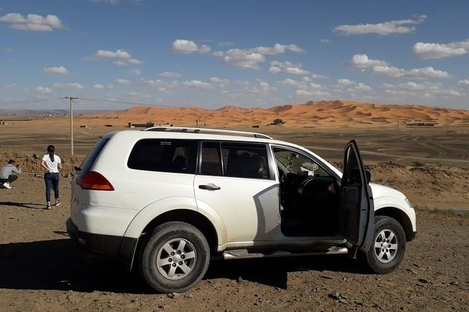 3 Hours Trip By 4x4 in Merzouga Desert,Nomads,Gnawa Music,Berber Pizza,