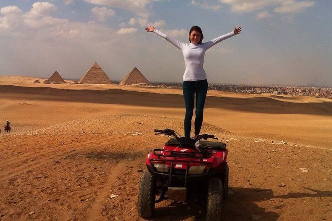 Quad bike ride in the pyramids of Giza photo 6