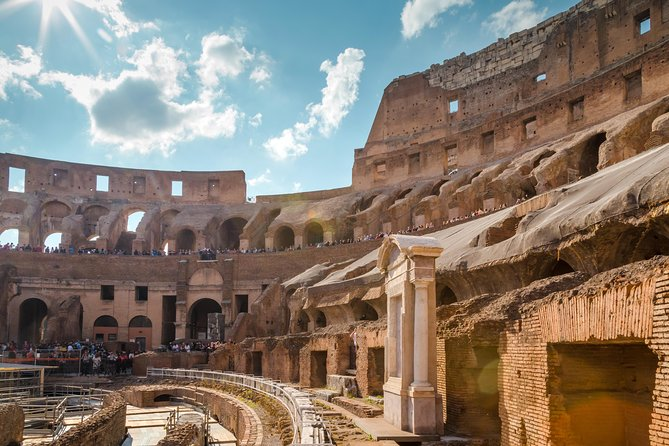 The VIP Semi-private Colosseum Dungeons & Roman Forum Guided Tour
