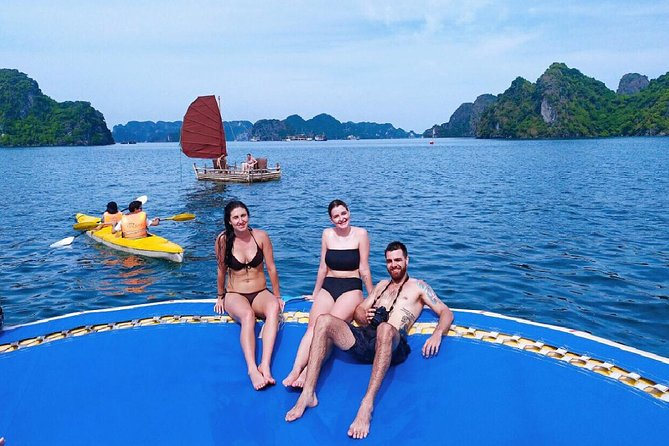 Discover Lan Ha Bay Luxury Tour With Kayaking and Delicious Lunch on Boat photo 1