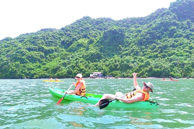 Discover Lan Ha Bay Luxury Tour With Kayaking and Delicious Lunch on Boat photo 10