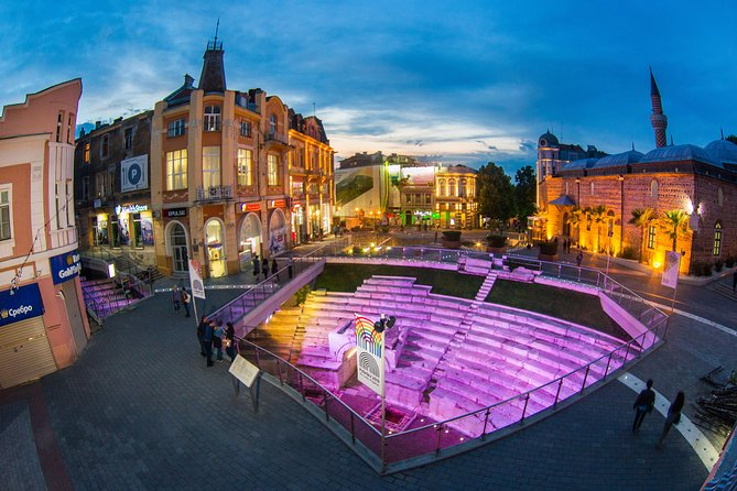 Walking tour of Plovdiv's top attractions