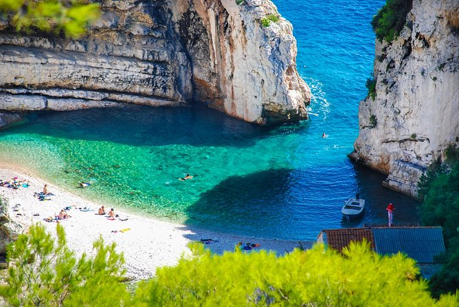 The Colourful Faces of Split, Hvar and Vis - Blue and Green Cave
