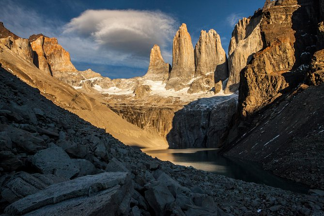 Torres del Paine National Park W Trek Chile 5 day Private Hike & Catered meals