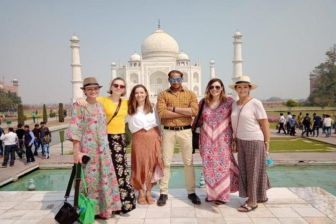 Private Taj Mahal & Agra Tour from Delhi-All Inclusive