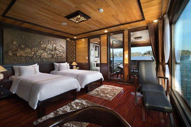 Luxury 5* Perla Dawn Sails - Lan Ha Bay 2 Days 1 Night