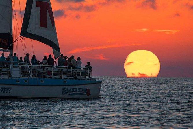 Sunset & Dolphin Catamaran Cruise in Panama City Beach