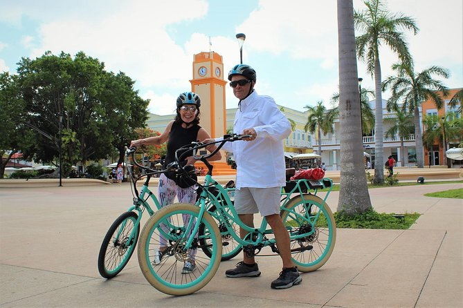 E-Bike City Tour though Cozumel & Taco Tasting Tour