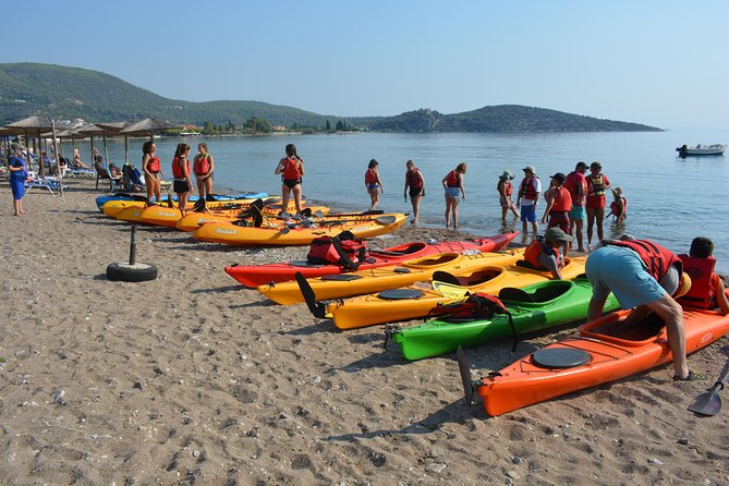 Epidavros sea kayak at the Ancient sunken city tour, small ancient theater