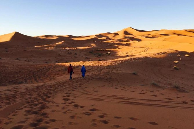 Trekking Walk For Two Nights In Erg Chebbi Desert With Local Guide All included.