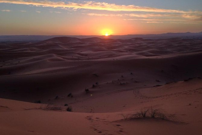 2 Days Private Trip To Merzouga From Marrakech To Marrakech,Desert Tent,1 Night