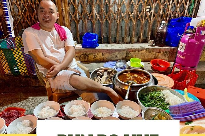 Hue Walking Food Tour | Savor 5 Hue Local Food in the evening