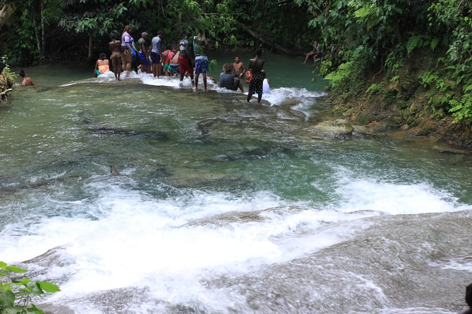 Benta River Falls and Rick's Cafe Day Adventure from Trelawny