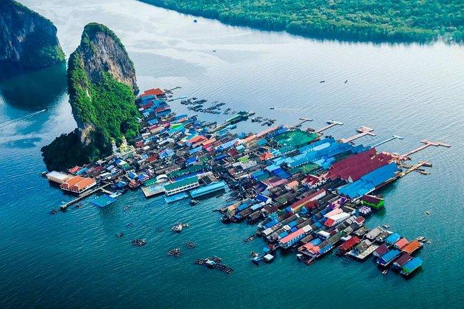James Bond Island and Phang Nga Bay Tour + Canoeing By Speedboat From Phuket