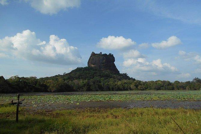 Beauty of Lion's Rock of Sigiriya and Golden Caves of Dambulla
