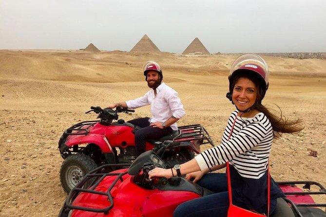 Quad Bike Tour around the Giza Pyramids