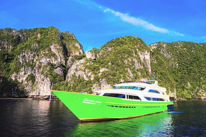 Koh Lanta to Koh Yao Noi by Chao Koh Ferry and Koh Yao Sun Smile Speed Boat