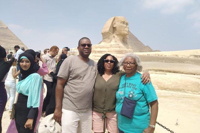 8-hours Giza pyramids,Sphinx ,Sakkara step pyramid and Memphis old city