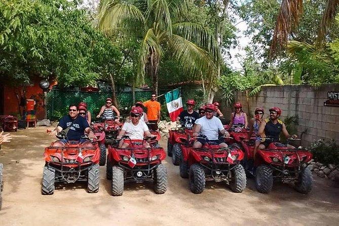 ATV Cenote & Ziplines Tour from Riviera Maya