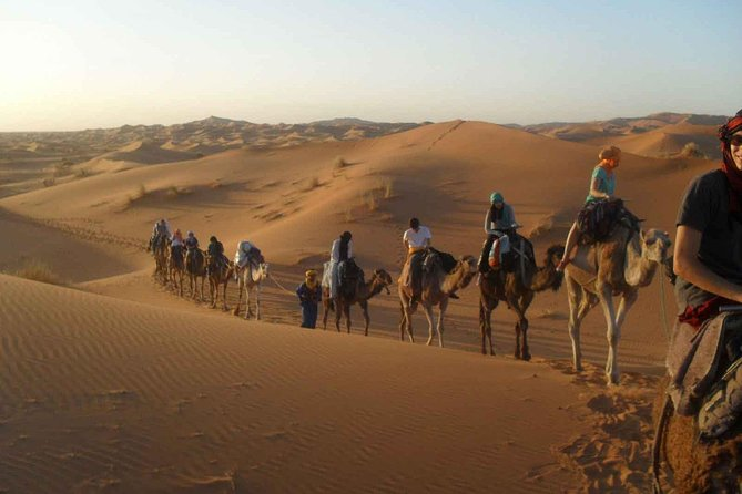 Morocco: Desert tours from Marrakech to Fez 3 days