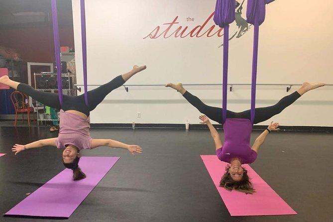 Aerial Yoga in Savannah