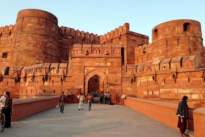 Taj Mahal Sunrise Tour with Agra Red Fort ( Skip-The-Line Tickets )