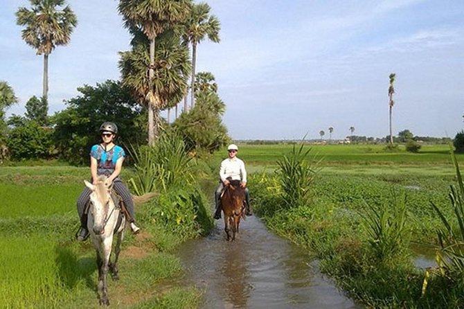 Horse Ride landskab trail rides med tuk tuk overførsel