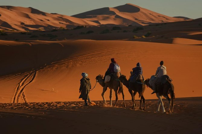 4 Days Trip From Marrakech to Fez via Desert with Night in Luxury Desert Camp