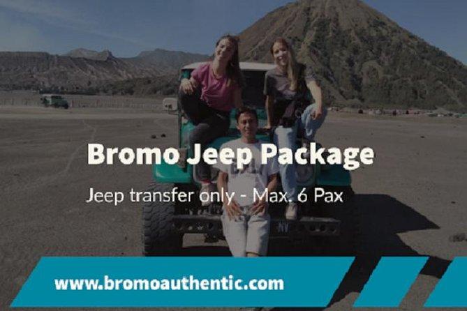 Bromo Sunrise Jeep Package