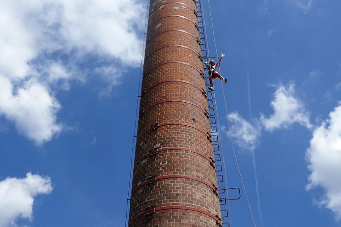 Safeguarded Chimney Climbing