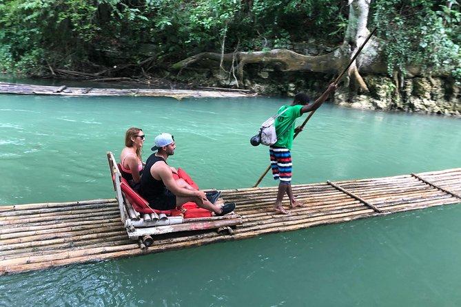 Bamboo Rafting On Martha Brae