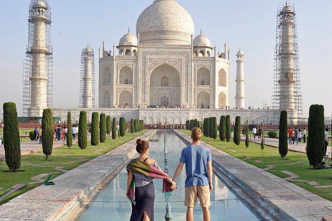 Full Day Taj Mahal & Agra Tour from Delhi
