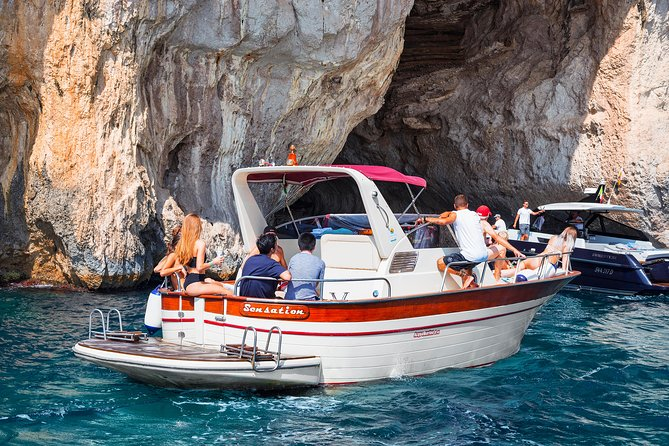 Boat Excursion Capri Island: Small Group from Amalfi