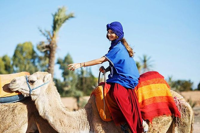 Sunset Camel Ride Tour With Barebecue